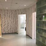 Fertige Arztpraxis (Innenraumgestaltung zur Voransicht für den Kunden)